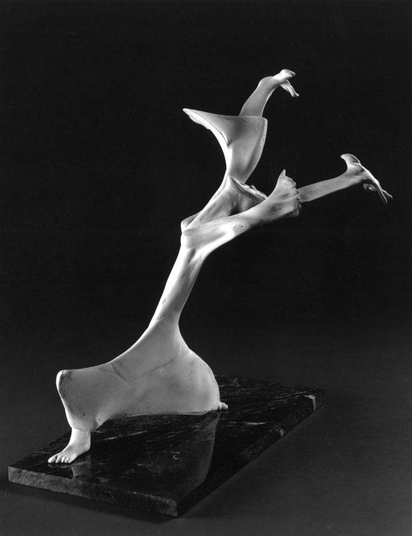 Thanks to Martha - Bone Sculpture by Jerry Hardin