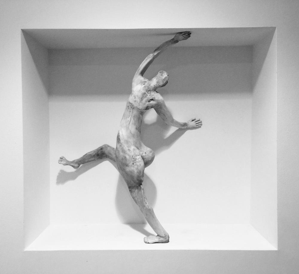 In A Box - Bone Sculpture by Jerry Hardin