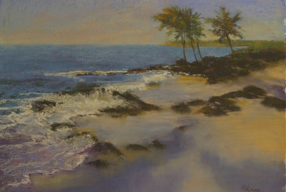Kona Coast--one of the paintings that will be auctioned