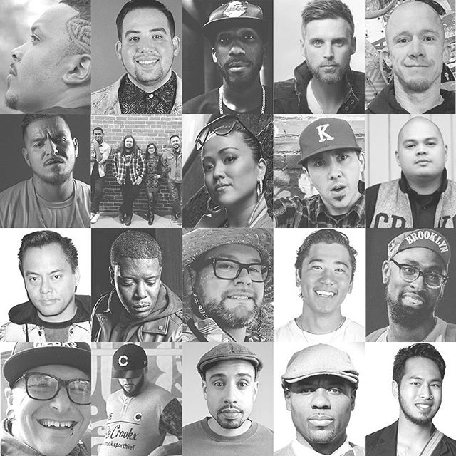 Later this week- super cool conference called @uywi at Biola in Southern California. See any familiar faces? Lots of hip hop inspired art and creativity presented at this conference.