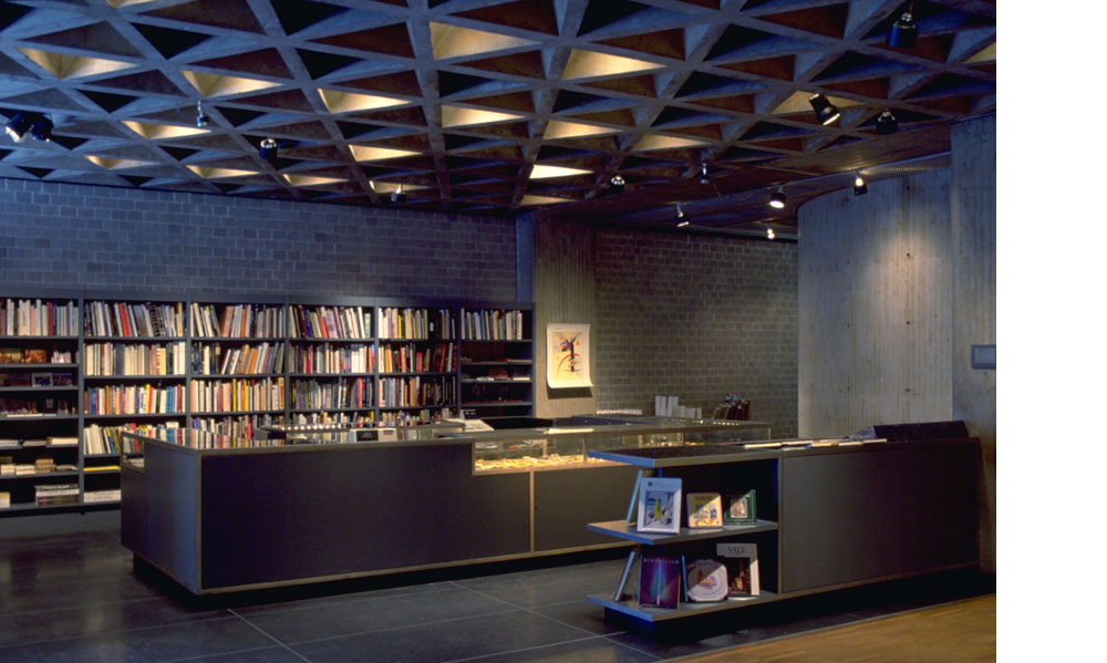 Yale University Art Gallery, museum store, 1984