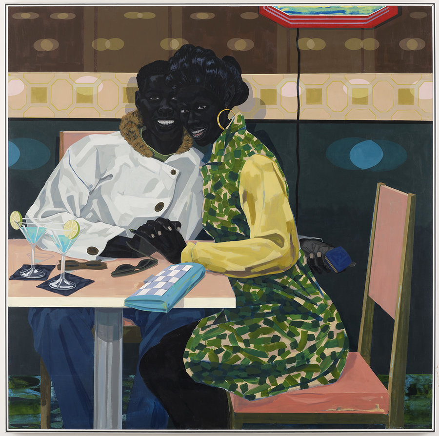 Kerry James Marshall,  (Untitled)   Club Couple , 2014