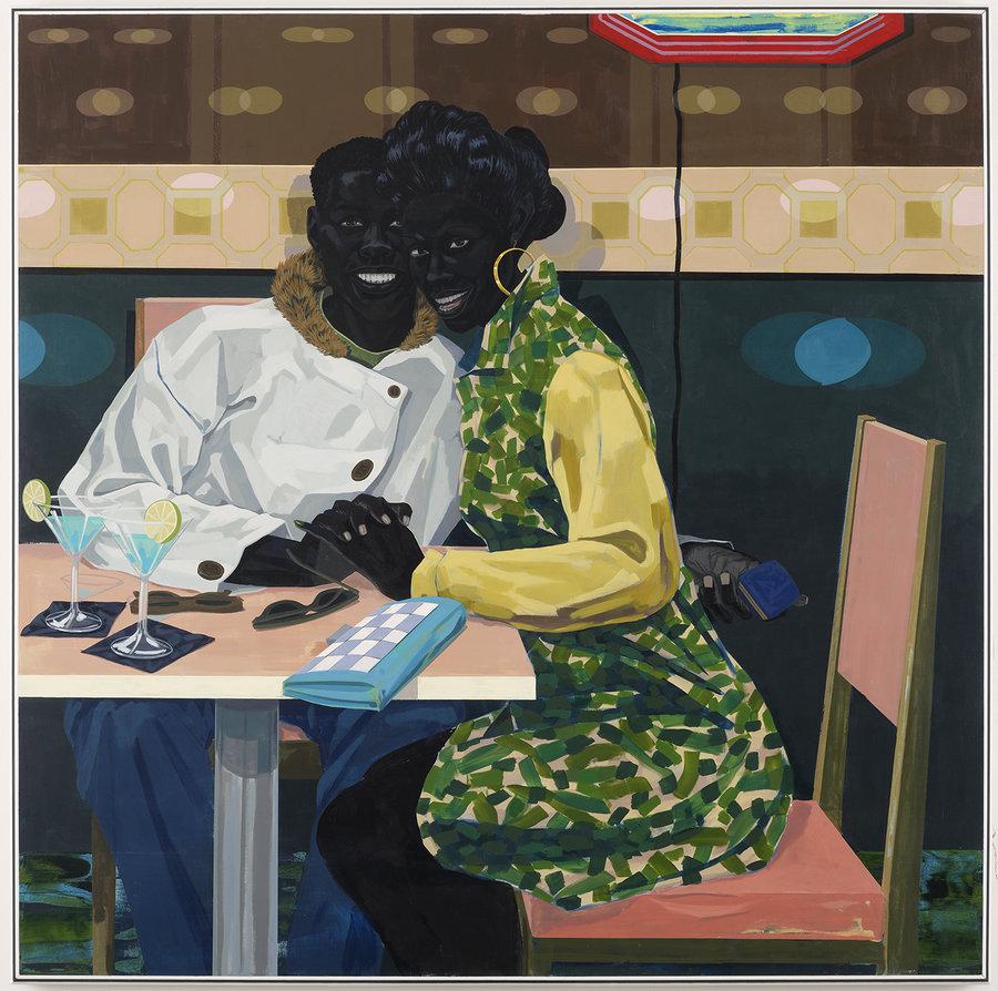 Kerry James Marshall,  (Untitled)  Club Couple , 2014
