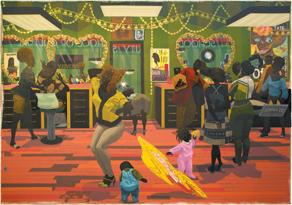 Kerry James Marshall,  School of Beauty, School of Culture , 2012