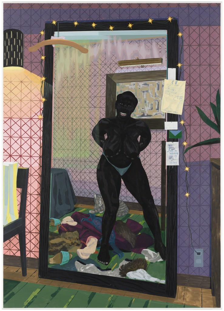 Kerry James Marshall,  (Untitled) Mirror Girl , 2014