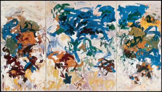 Joan Mitchell,  Bracket,  1989