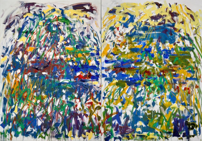 Joan Mitchell,  Riviere , 1990