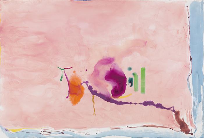 Flirt,  1995 by Helen Frankenthaler