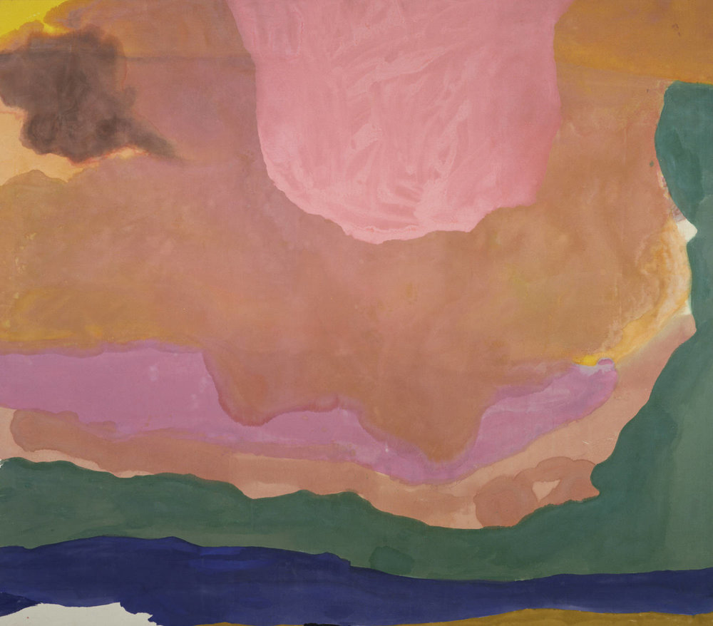 Flood , 1967 by Helen Frankenthaler
