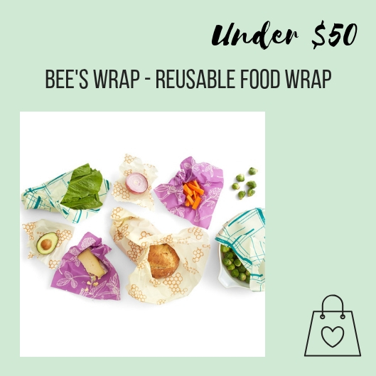 Bee's Wrap is a great way to minimize plastic wrap in your kitchen. This variety pack is the perfect set to get you started and replaces the need for plastic cling wrap and bags.