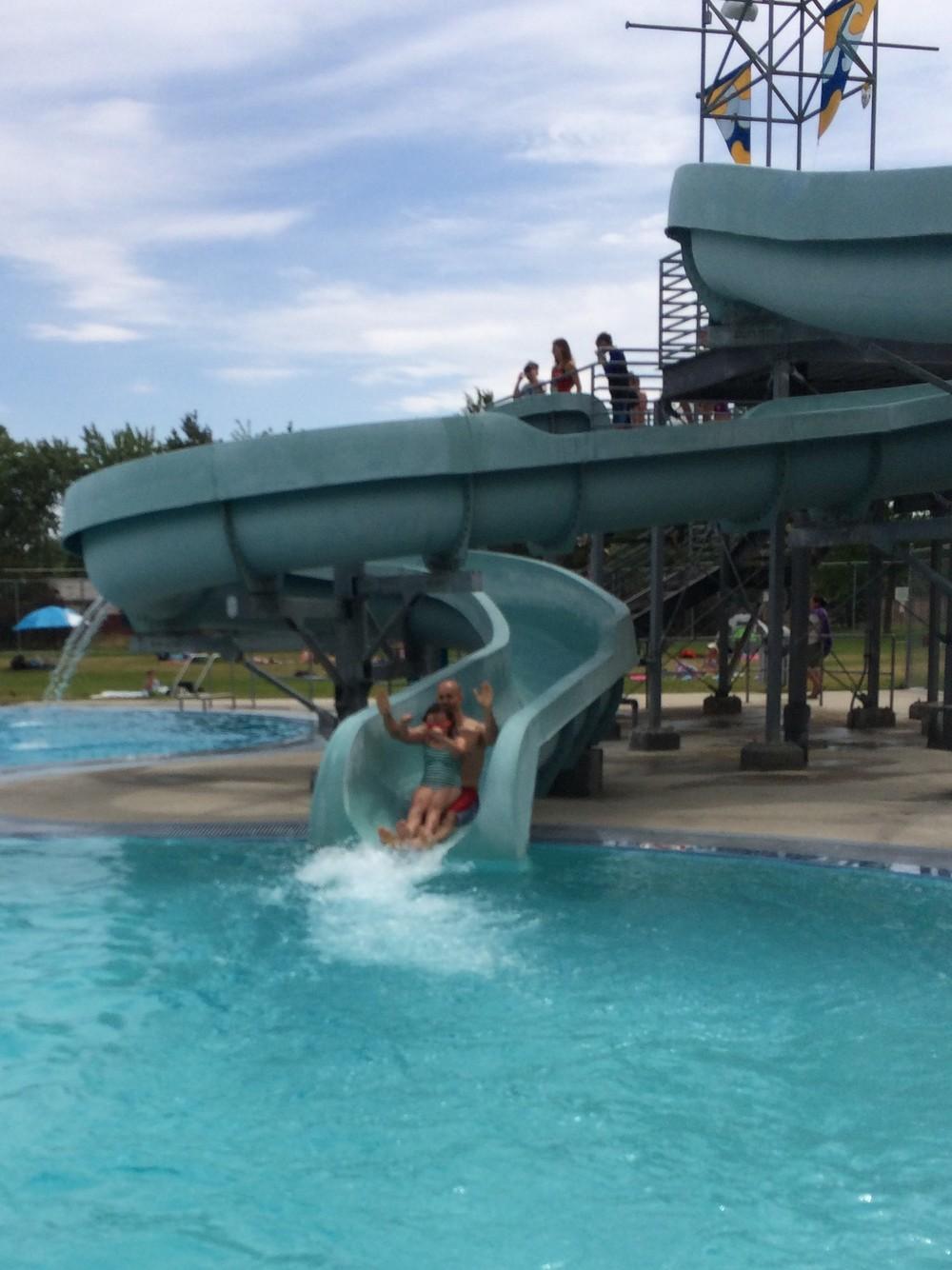 Boise water slide