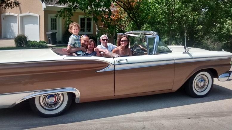 1959 Ford Fairlane Hardtop