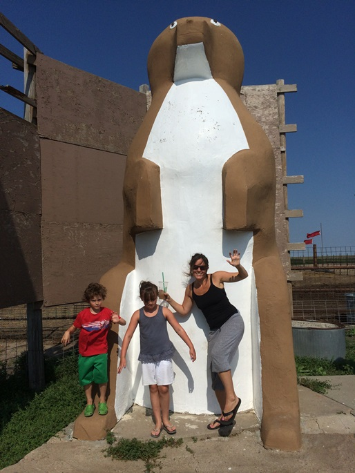 THE WORLD'S LARGEST PRAIRIE DOG – yes, this was it