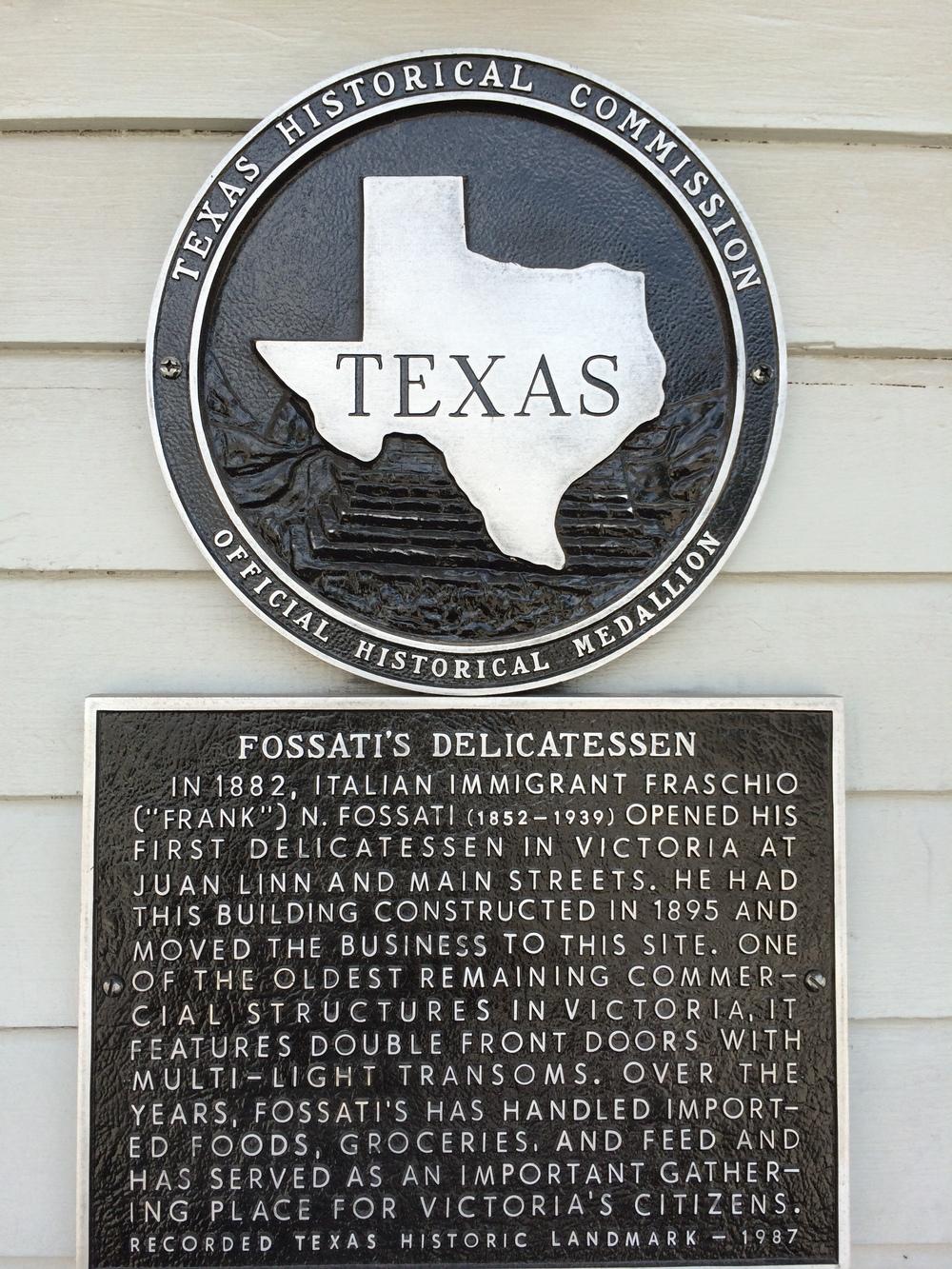 Fossati's Delicatessen in Victoria, TX