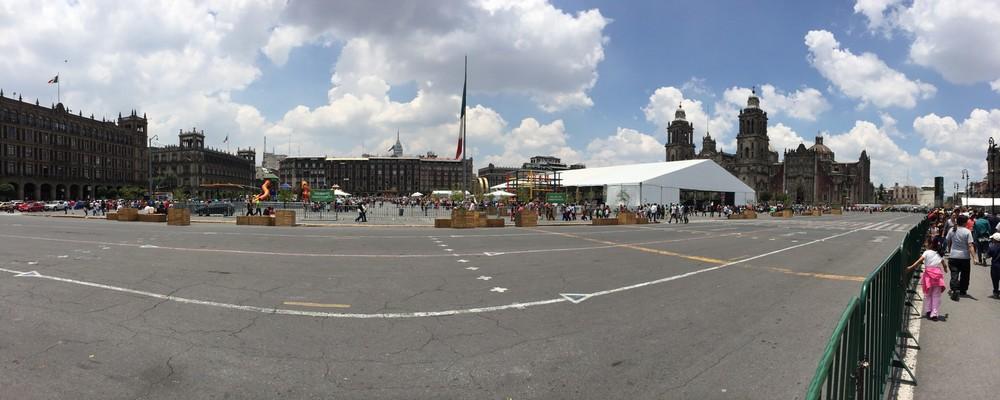 Center of MExico City Zocalo