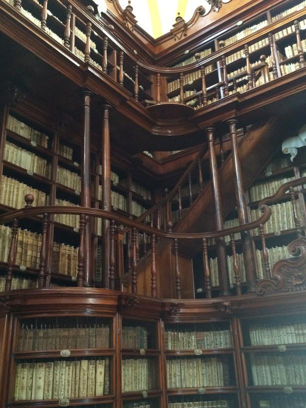 Woodwork atBIBLIOTECA PALAFOXIANA