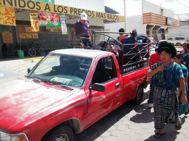 Guatemalan Pickup