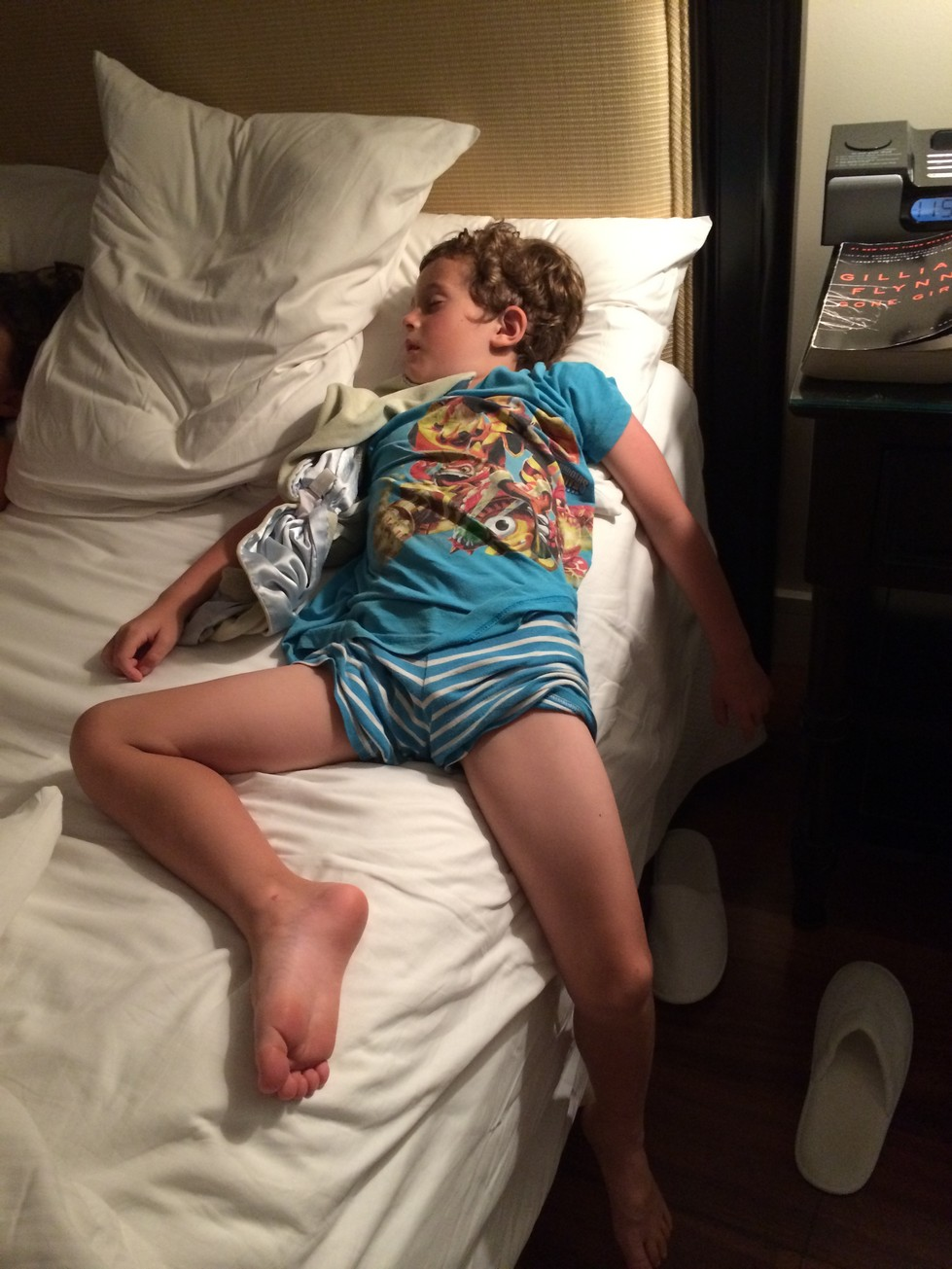 Sometimes vacation is exhausting.