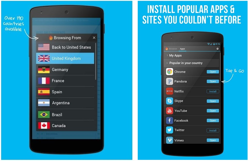 hola mobile app