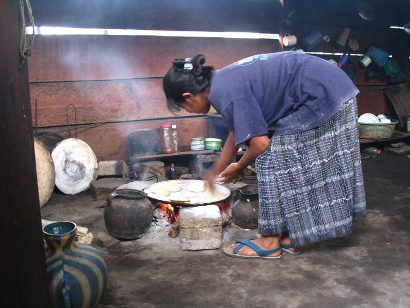 A typical three stone stove. Photo Credit 1stove.org