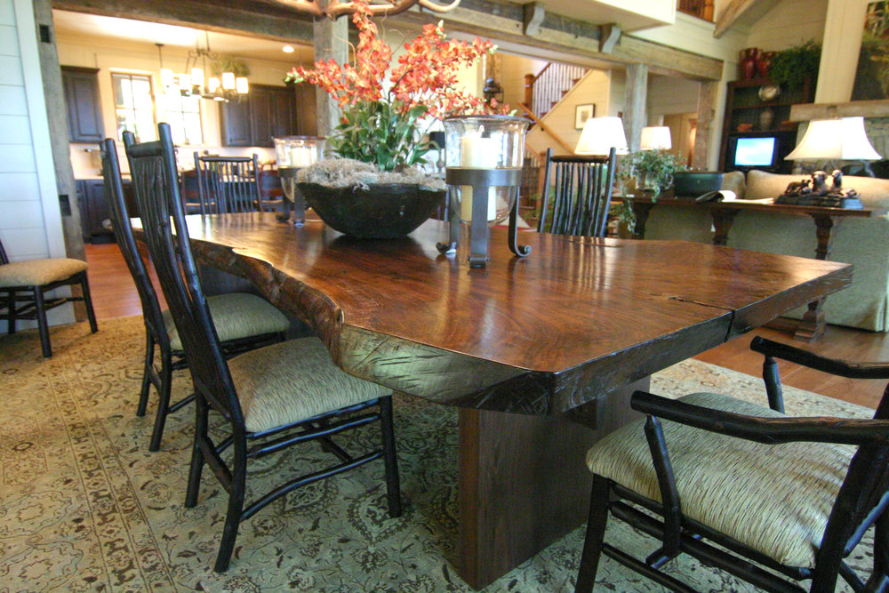 If you are looking for that one-of-a-kind showpiece for your dining room, our master craftsmen can work with you to bring your vision to life.