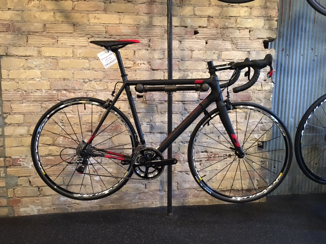 2015 Cannondale Supersix Evo Red 22 The Cannondale Supersix is an award winning bike. Designed for an optimal combination of comfort, stiffness, light weight and handling.  These bikes are available in 52cm, 54cm, 56cm and 58cm. Color: Red or Team. Call for pricing.