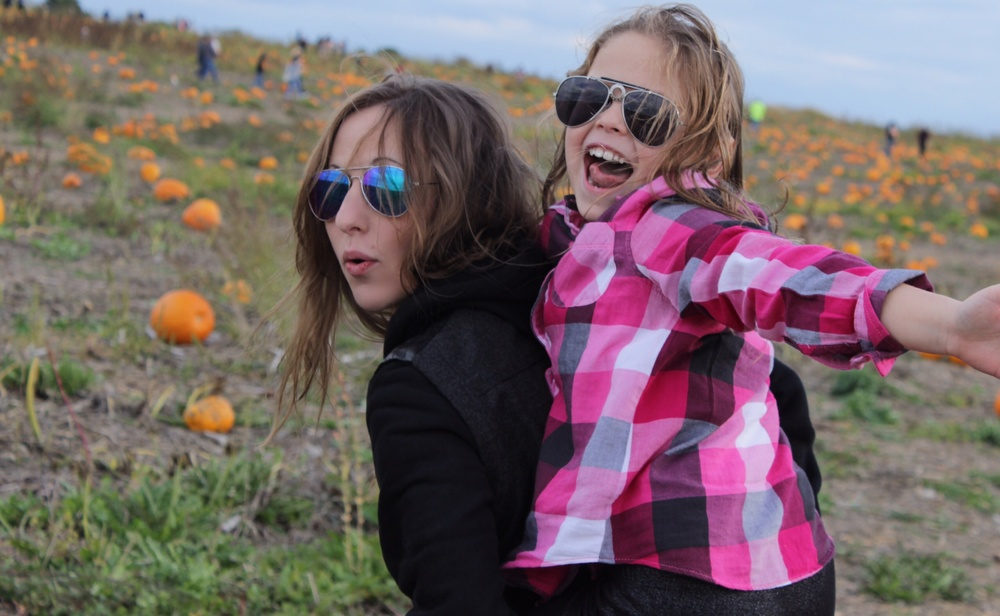 Pumpkin Patch with my lovelies
