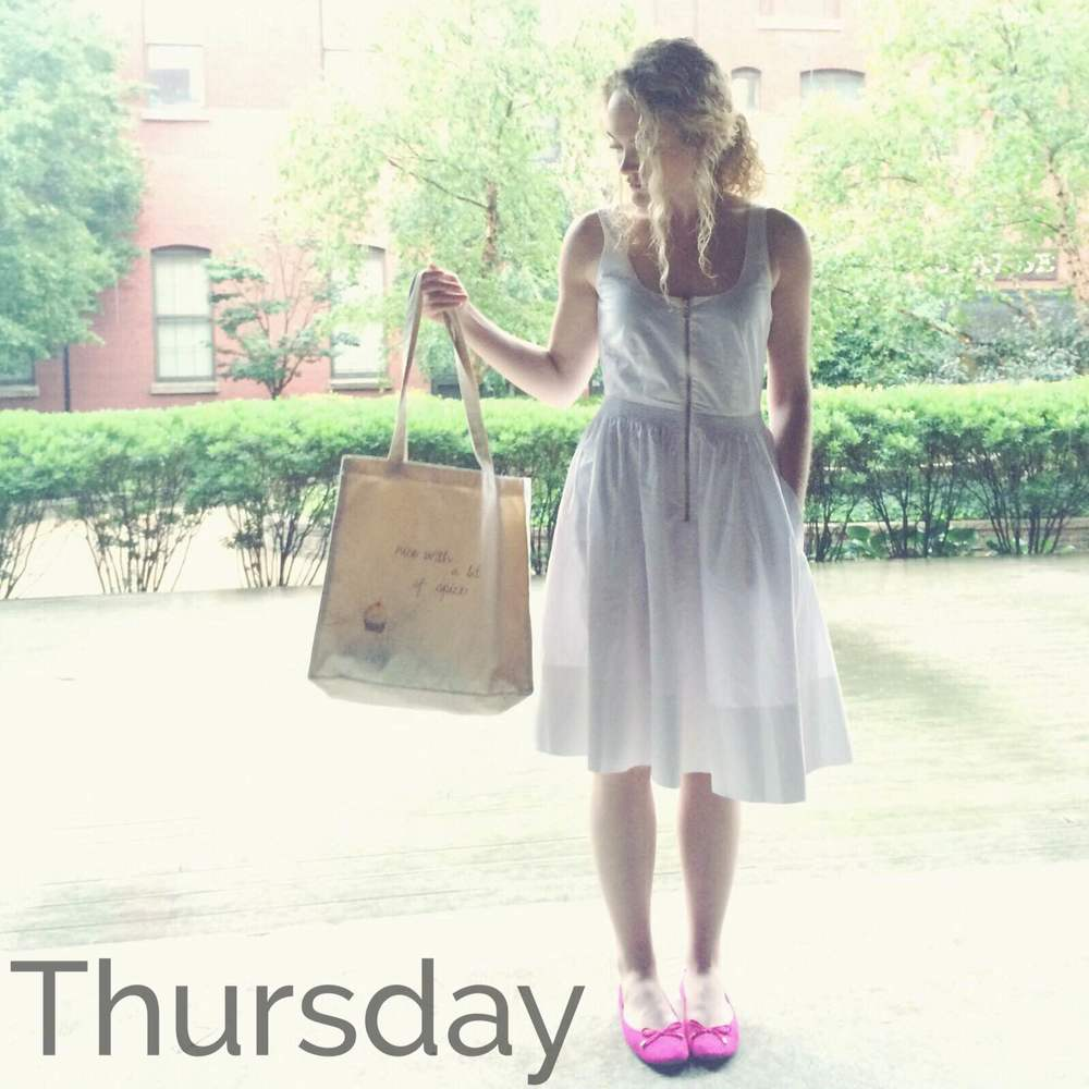 Dress  |  Shoes  |  Tote