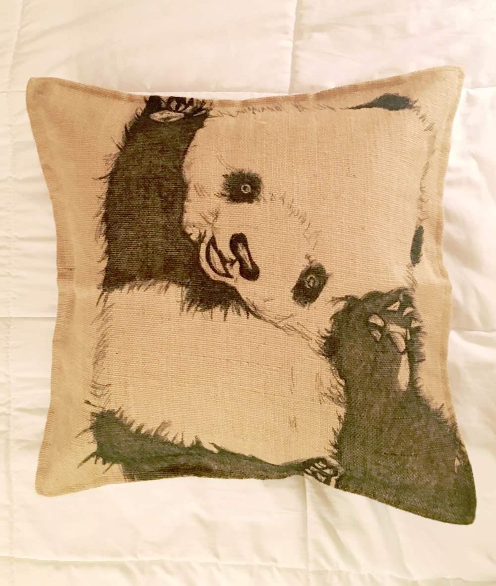 A cuddly  qustom pillow I drew.