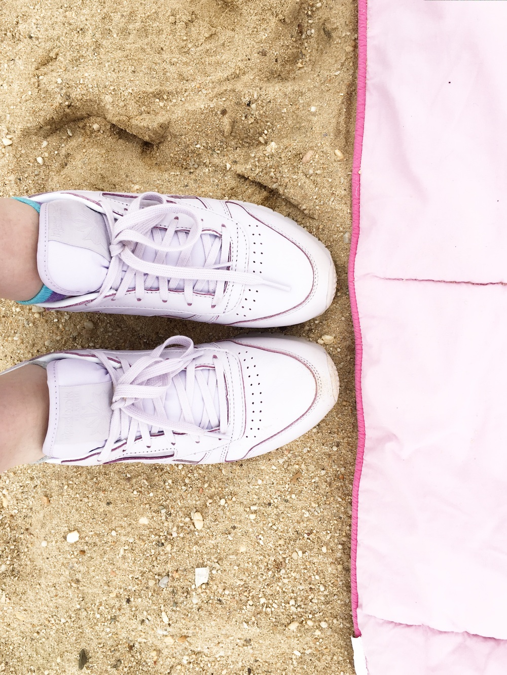 pastel party. { sneaks }