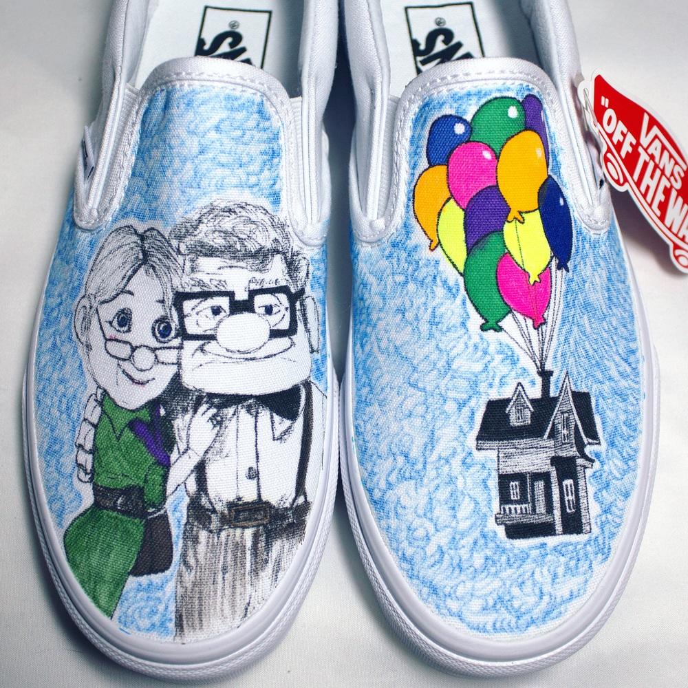 custom sneakers by me! shop here :)