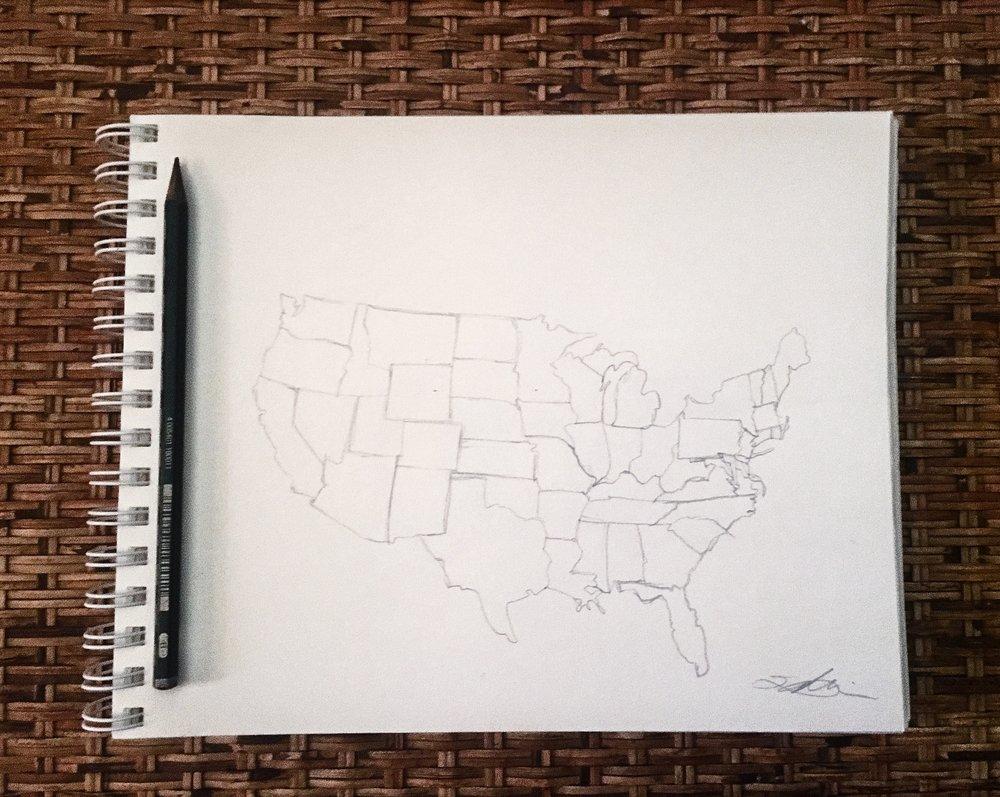 quick sketch.