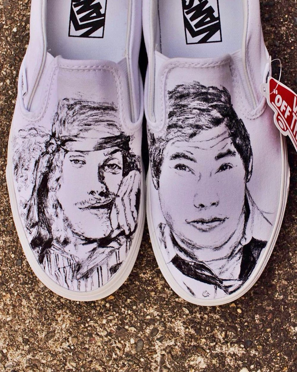 custom sneakers aka qustom quinns