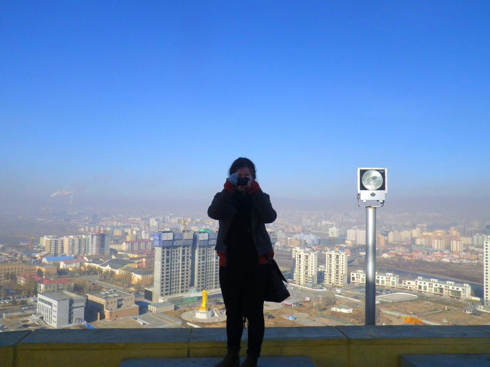 city. smog. sky.