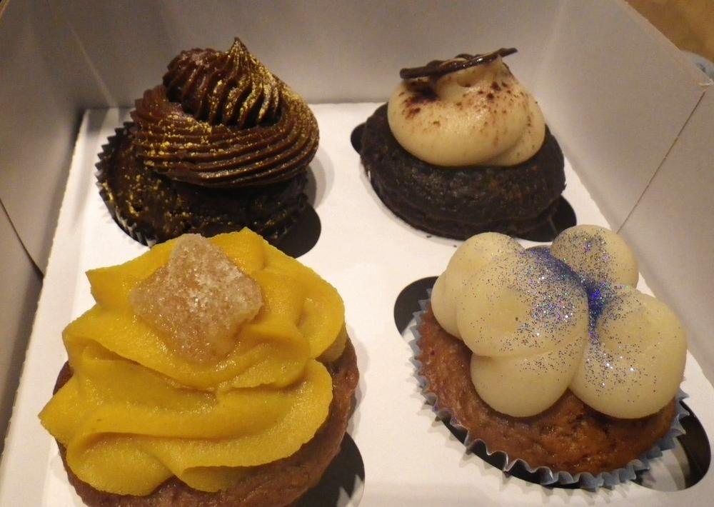 vegan cupcakes in Paris, from Vegan Folie's