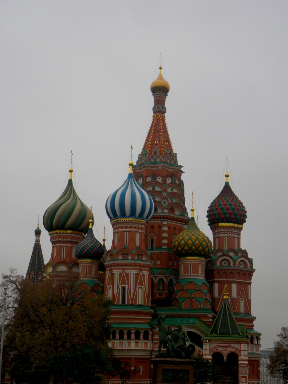 Cathedral of the Intercession of the Most Holy Theotokos on the Moat...aka St. Basil's