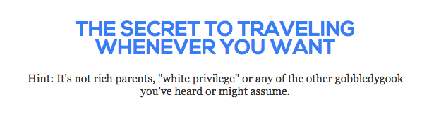 "according to  Leave Your Daily Hell  white privilege is ""gobbledygook"""