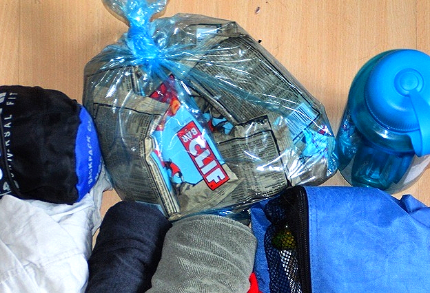 1kg of Clif Bars! #emergencysnacks