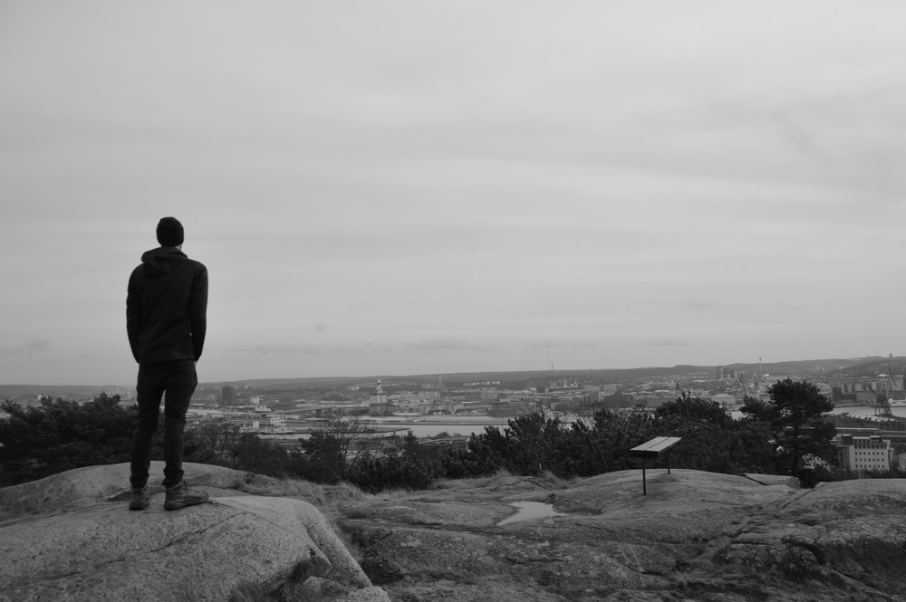 Hiking in Göteborg, after 7 weeks in Canada