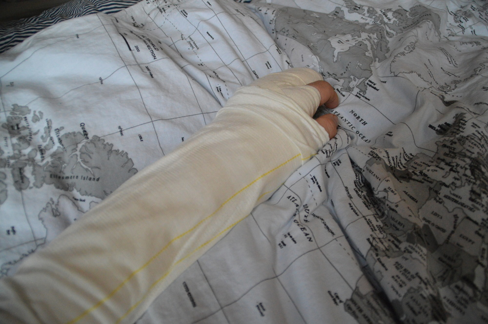 Injured in Sweden