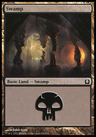 MTG Basic Land Swamp