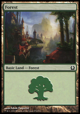 MTG Basic Land Forest