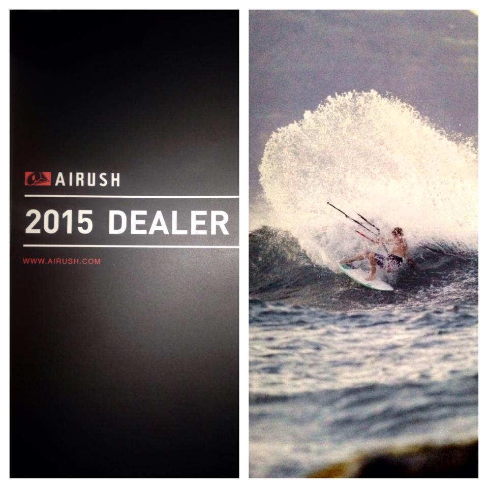 2015 Airush Dealer guide shot by Nate Volk