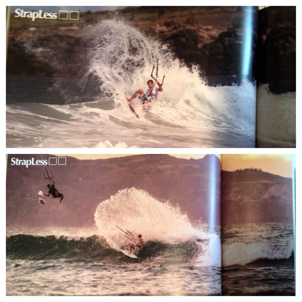Article in Stance Magazine shots by Nate Volk rider Kyle Flower/Bear Karry