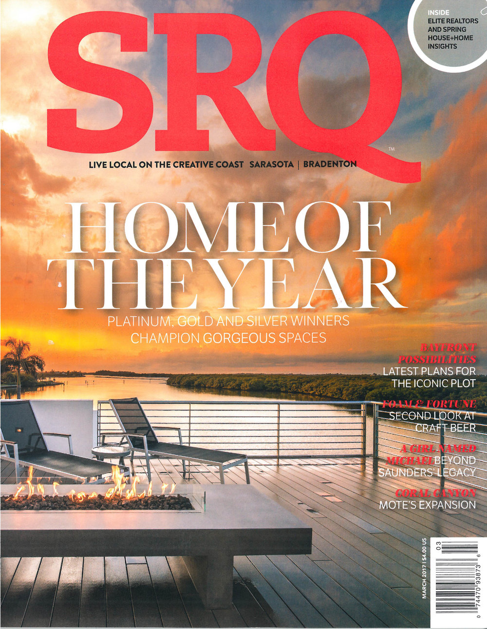 SRQ Home of the Year, March 2017