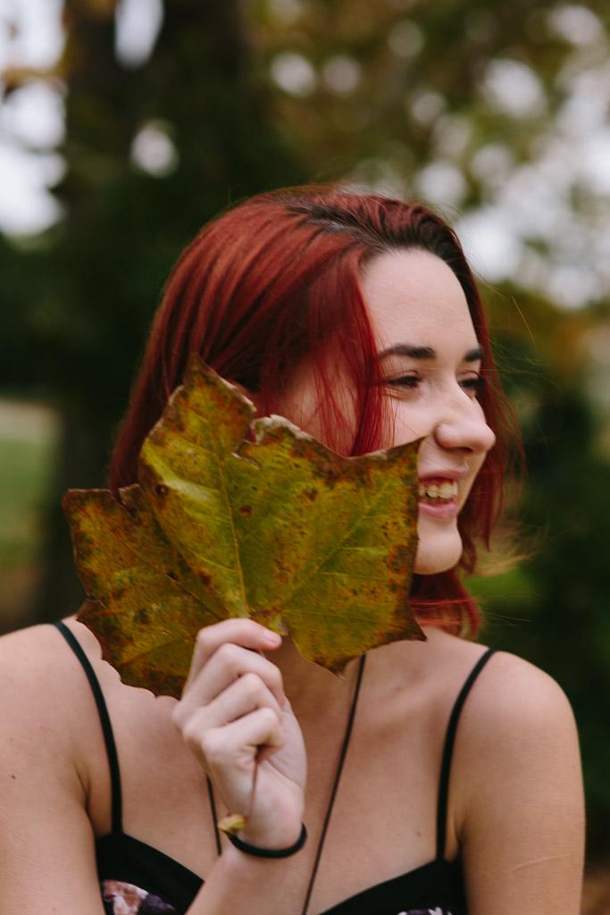 Fall Senior Portraits