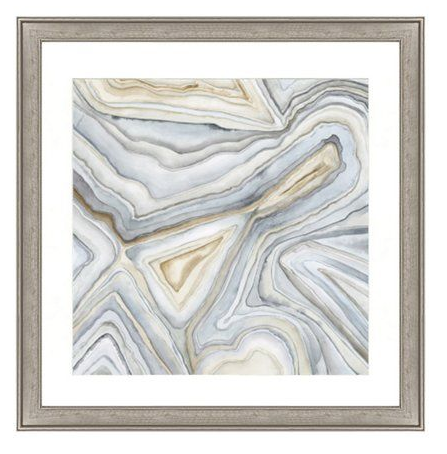 One Kings Lane Agate Abstract I $182, Agate Abstract II $182
