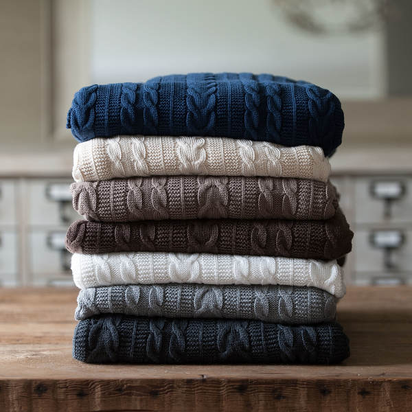 Boll & Branch  Luxury Throw  $125