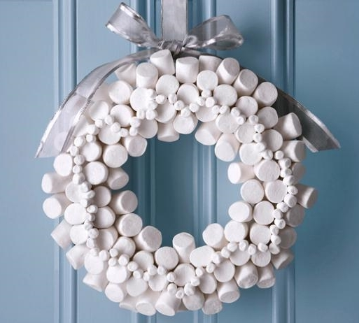 Food Network Marshmallow Wreath