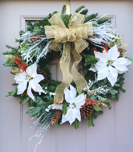 Wintry Holiday Wreath